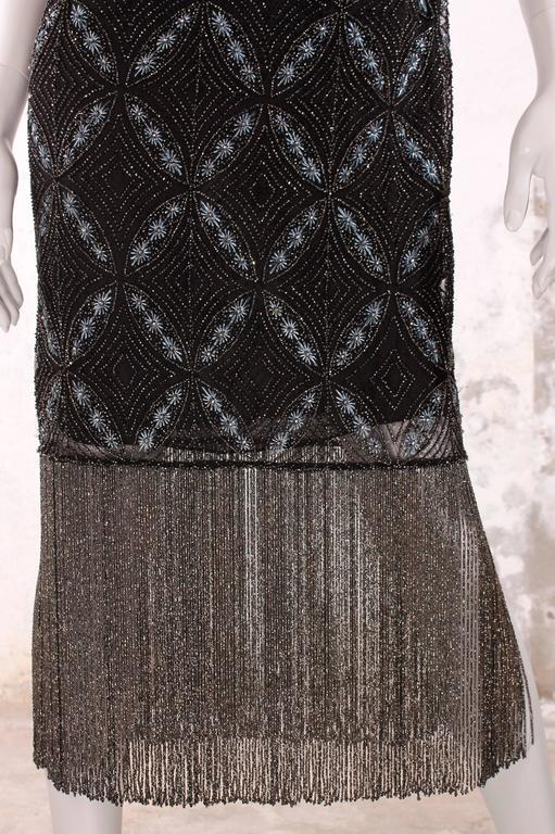 Christian Dior Evening Dress - black beads/embroidery 5