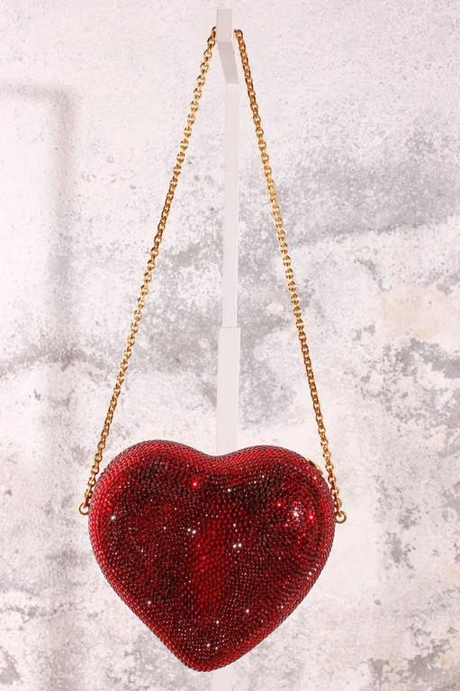 Judith Leiber Heart 'n Soul Sequin Clutch Bag 4