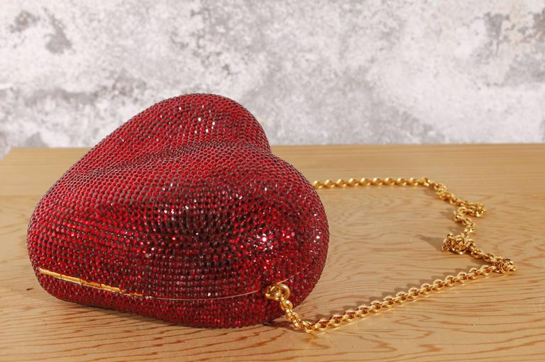 Judith Leiber Heart 'n Soul Sequin Clutch Bag 5