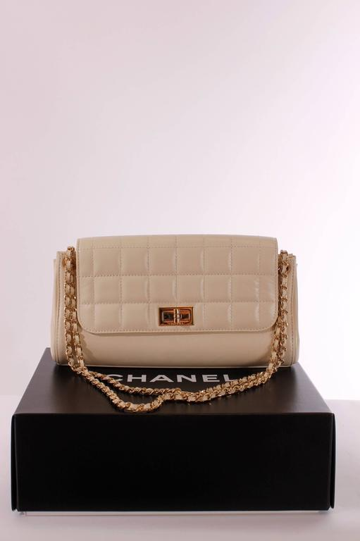 b2d18ea1bbe9 This Chanel Mademoiselle Lock Accordion Flap Bag is from 2002, but it's  like new!