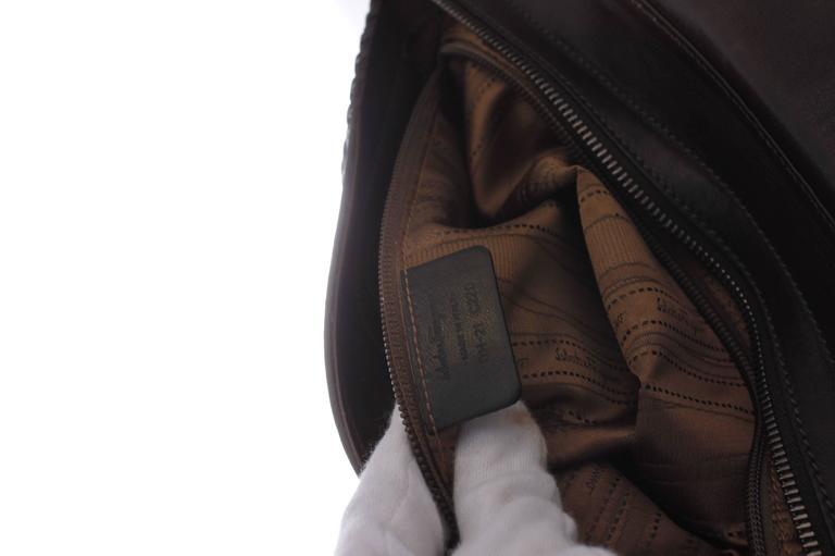 Women's Salvatore Ferragamo Sofia Large Tote Bag - brown/croco/suede For Sale