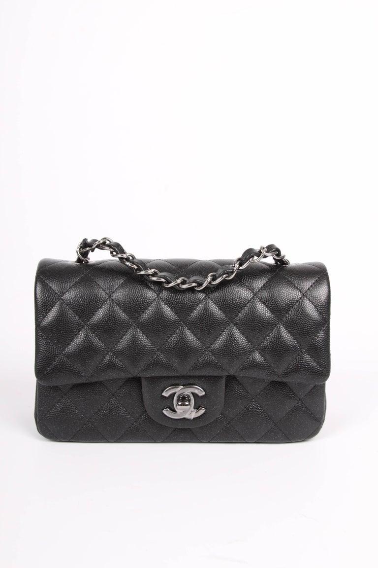 Chanel 2 55 Classic Mini Rectangular Flap Bag Crossbody