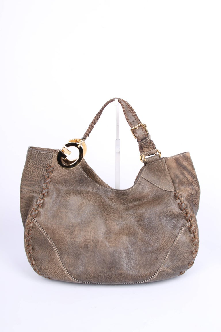 d8995921597 Gucci Charlotte Tote Bag - taupe at 1stdibs