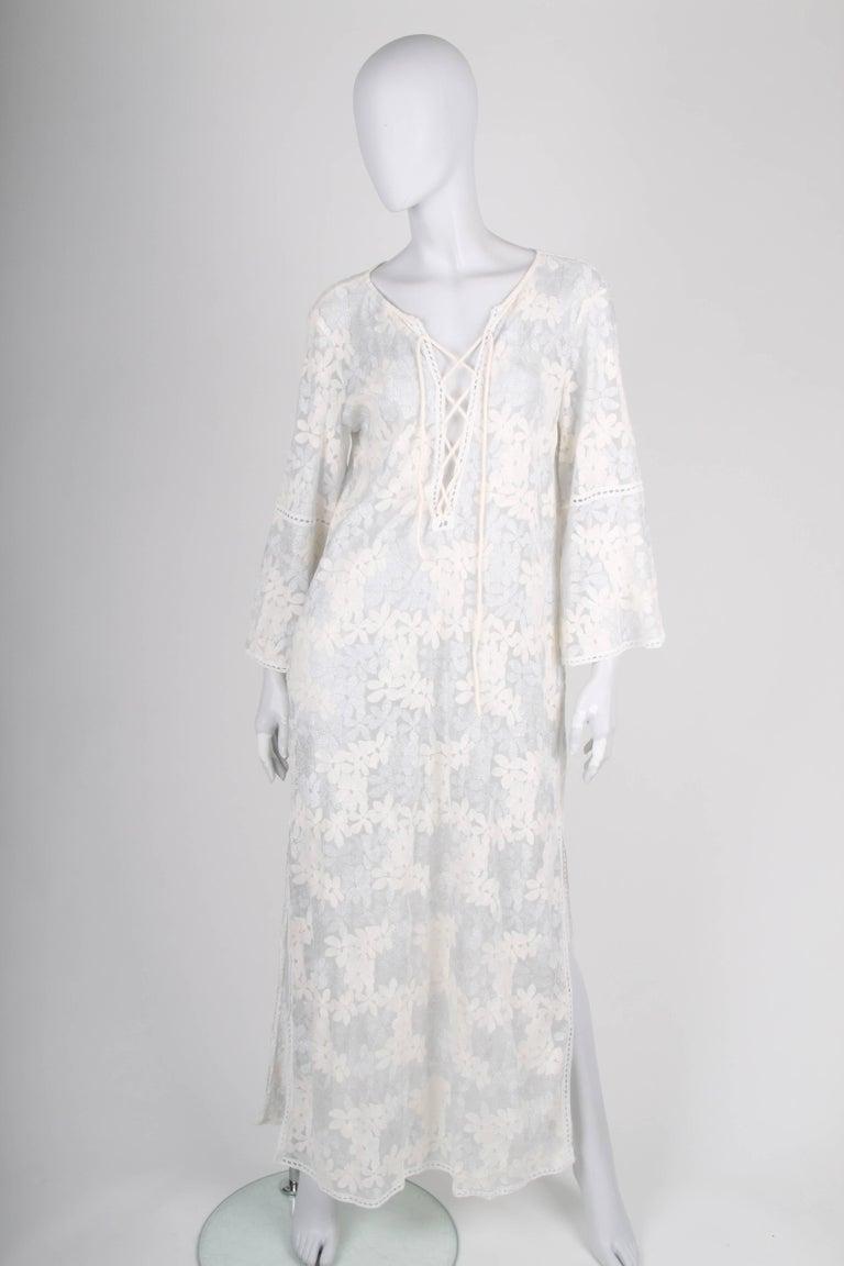 Women's   Raffaela d´Angelo Tunic Beach Dress - white/silve For Sale