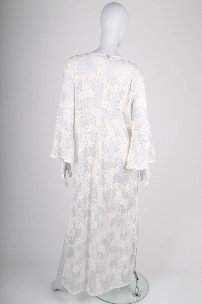 Raffaela d´Angelo Tunic Beach Dress - white/silve In Good Condition For Sale In Baarn, NL
