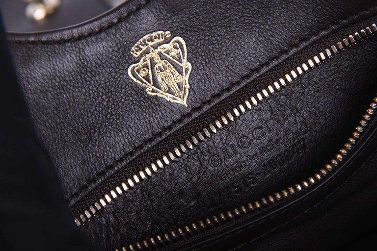 Gucci Mini Python Stirrup Top Handle Bag - multi color For Sale 3
