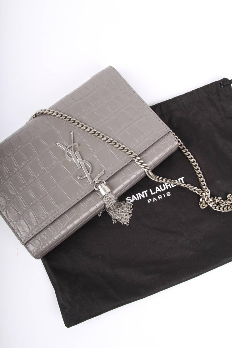 Yves Saint Laurent Ysl Monogram Kate Medium Shoulder Bag