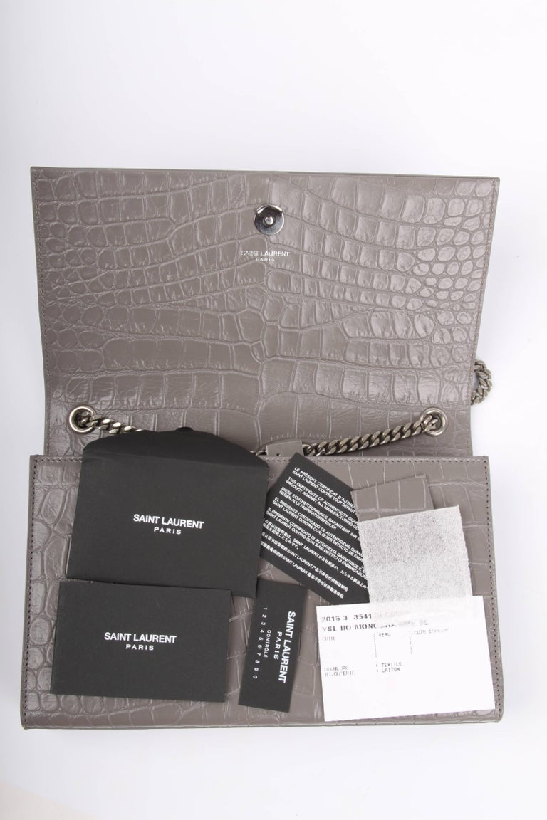 Yves Saint Laurent Ysl Monogram Kate Medium Shoulder Bag