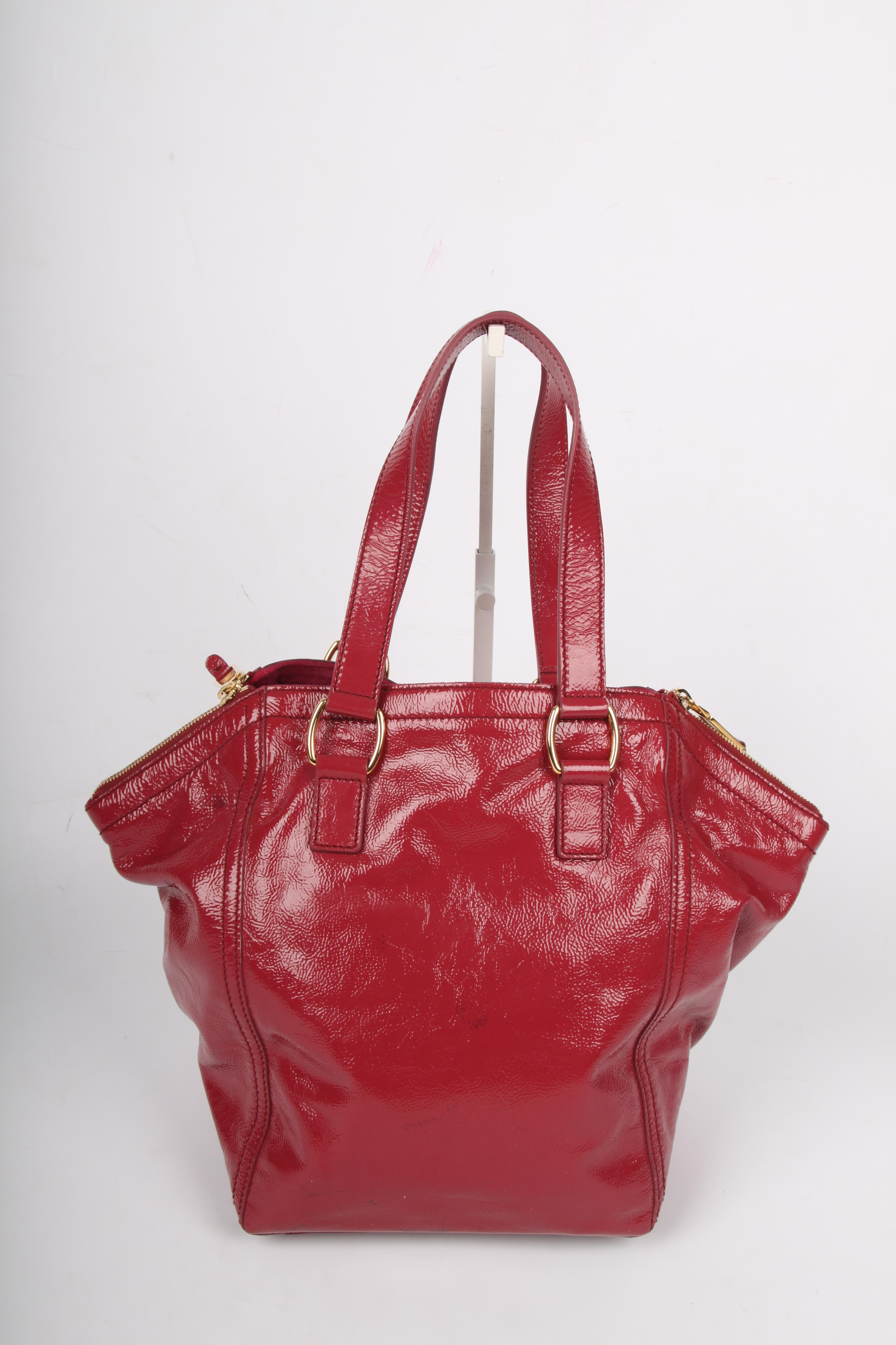 5688073a87f Yves Saint Laurent Downtown Bag Patent Leather - pink at 1stdibs