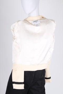 Chanel Jacket - creamy white/black