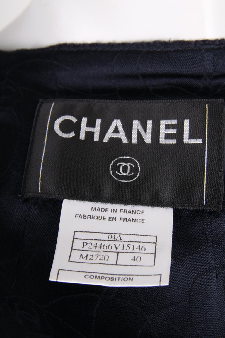 Chanel Wool Jacket - blue/red/white    For Sale 2