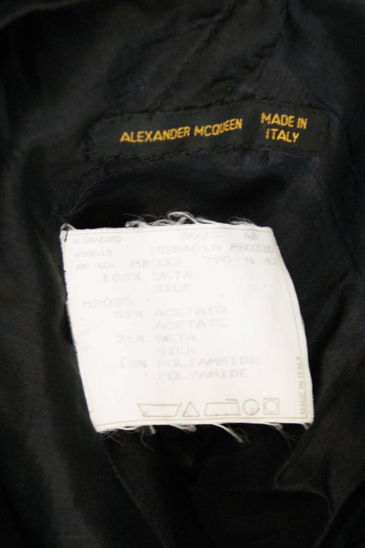 Alexander McQueen S/S 2001 'Voss' Runway Asymmetrical Gown Dress For Sale 5