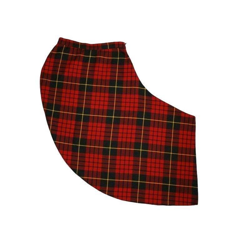 6f83c9852f Women's F/W 1998 Joan Alexander McQueen Bustier Tartan Skirt Set In CR  Fashion Book