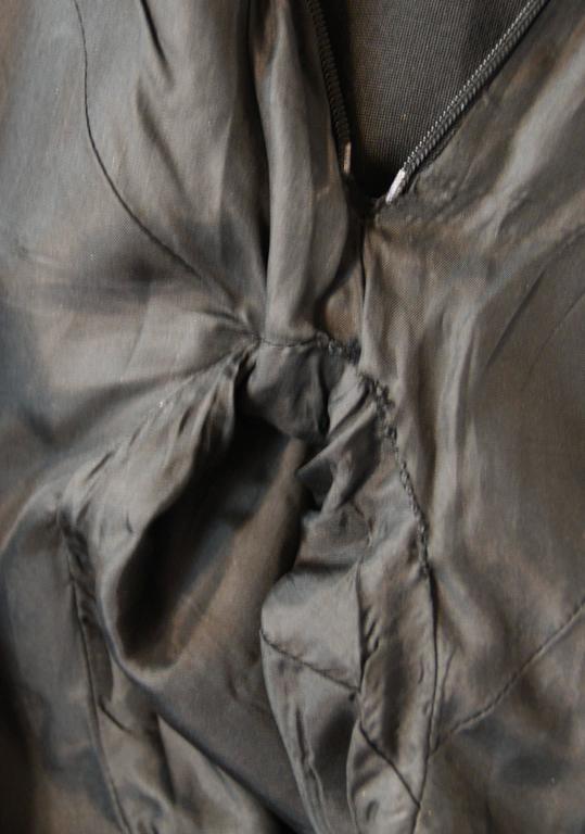 S/S 1998 Alexander McQueen Savage Beauty Met Museum Mesh Tuxedo Mini Dress 40 For Sale 1