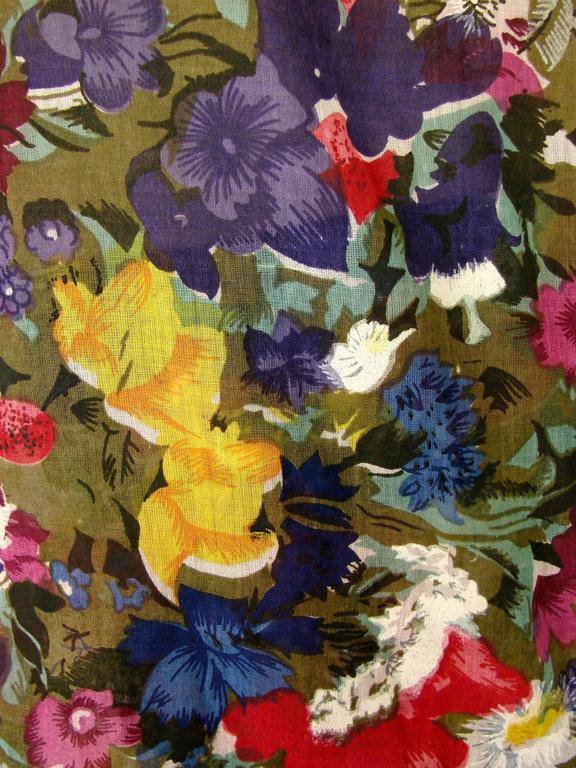 Christina Jan Barboglio Floral Blouse Palazzo Pant
