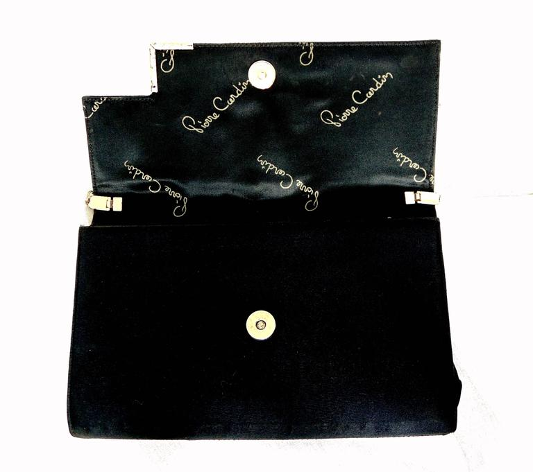 Pierre Cardin Sleek Python Versatile Clutch Bag C 1970 gaa3oGVqWZ