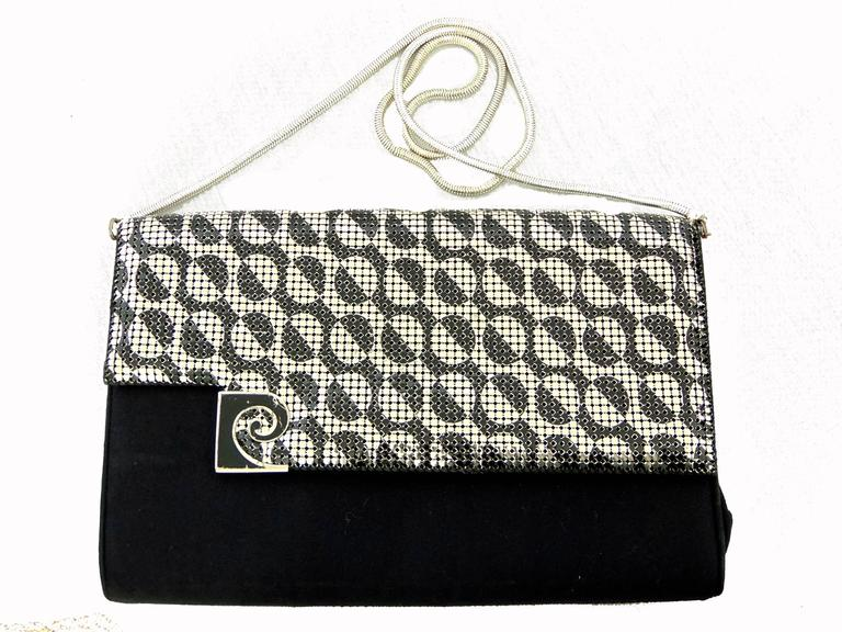 Pierre Cardin Sleek Python Versatile Clutch Bag C 1970 mHrUOf