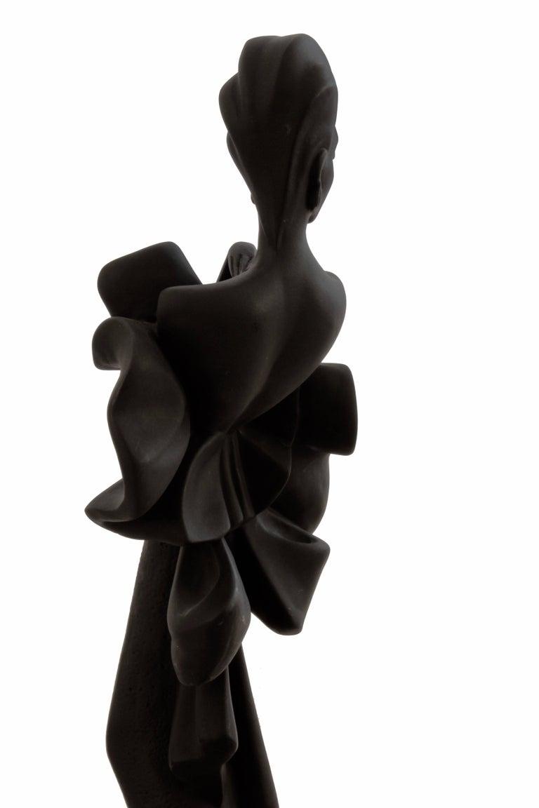 Alexsander Danel Austin Productions Inc Orchide Sculpture AP3590 Fashionista 90s For Sale 2