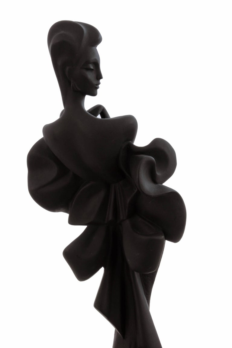 Alexsander Danel Austin Productions Inc Orchide Sculpture AP3590 Fashionista 90s For Sale 3