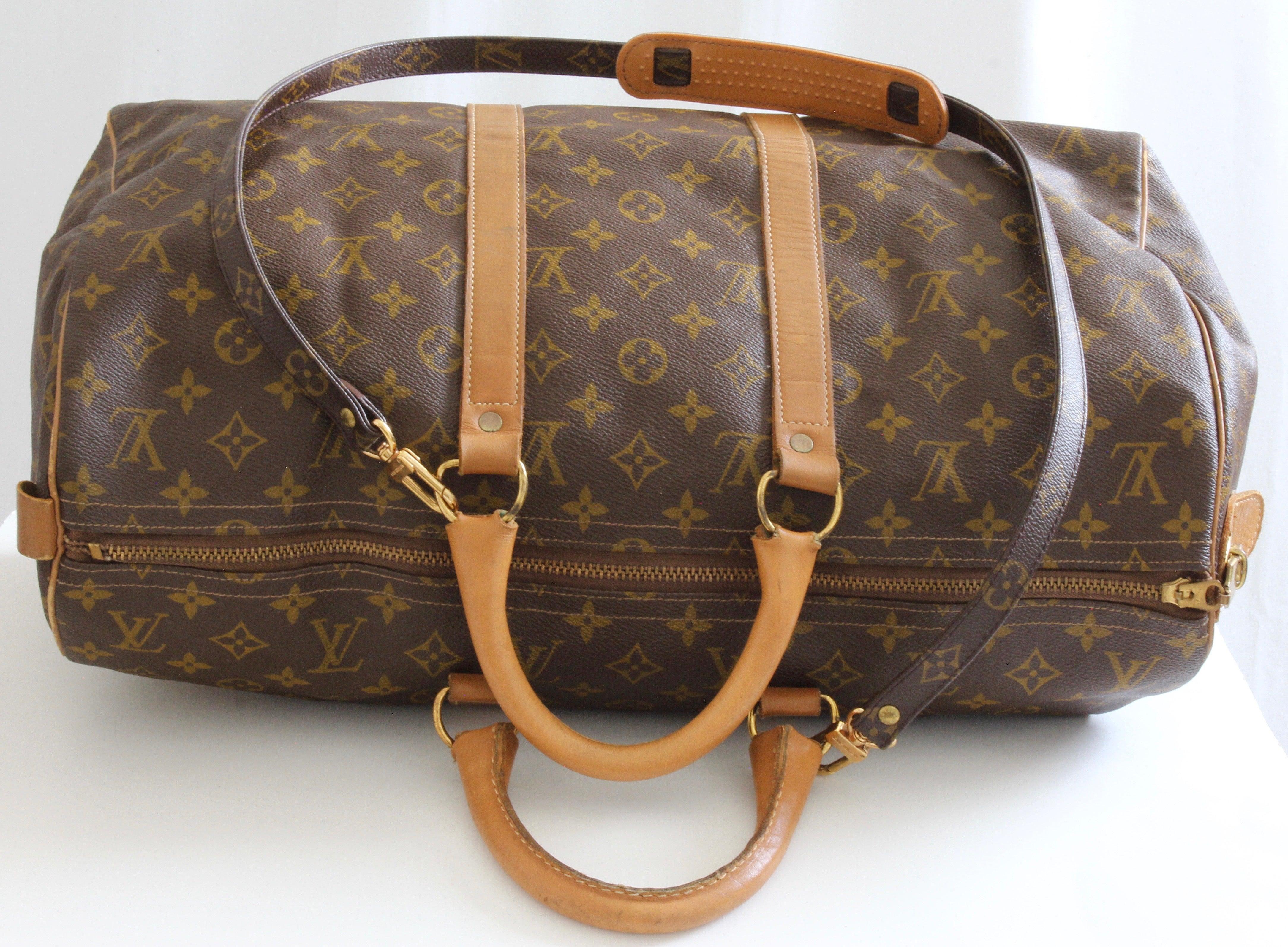 4047396b0a25 Louis Vuitton Keepall Duffle Bag 45cm Travel French Company