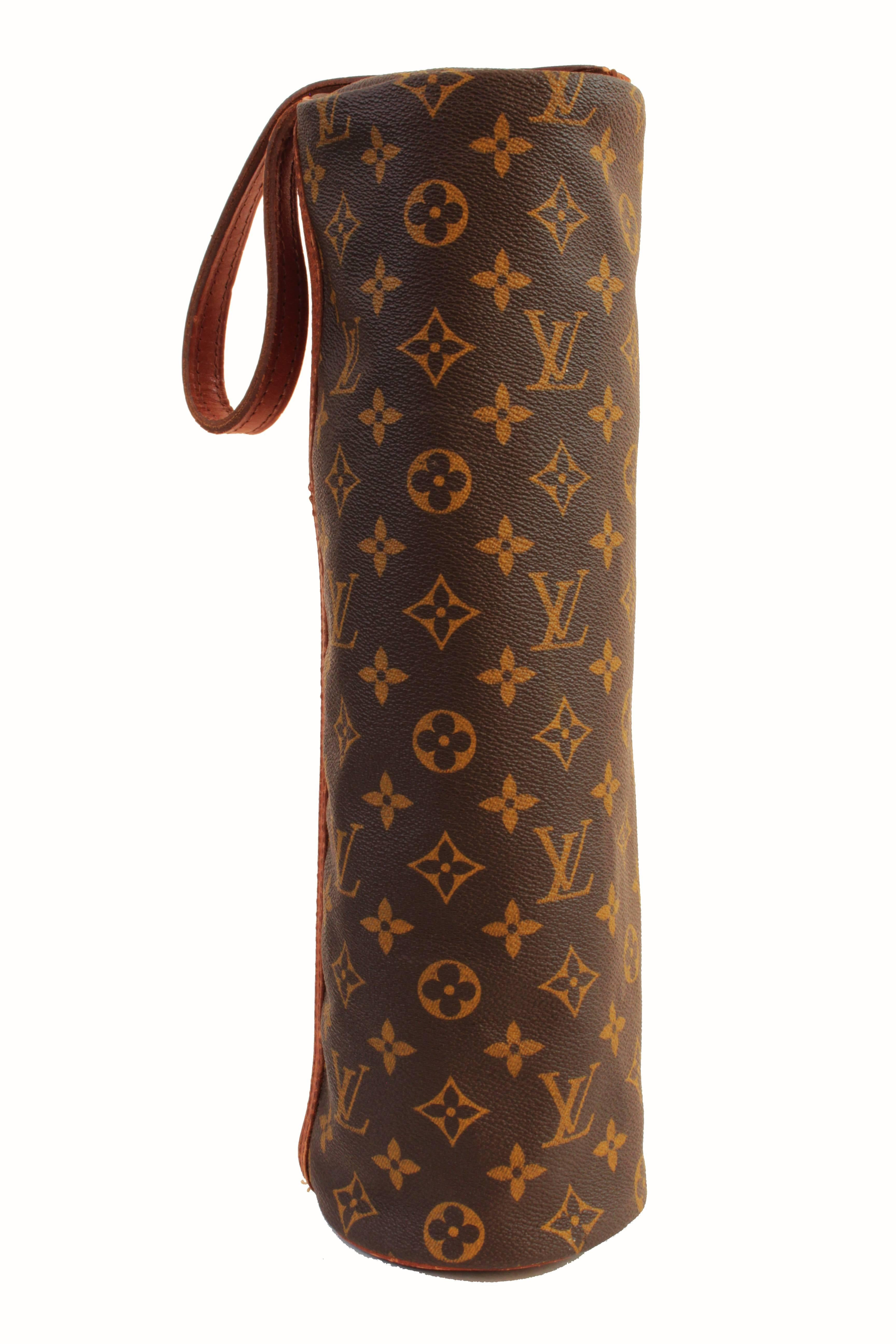 b39aae6c457d Vintage Louis Vuitton Monogram Tote with Thermos and Cup Picnic Travel  Barware 70s at 1stdibs