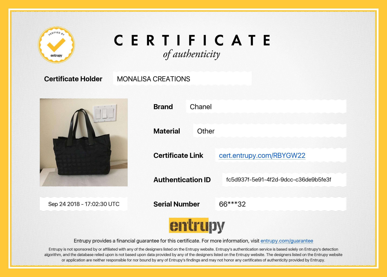 18ec10ac8a72 Chanel Travel Line Black Jacquard CC Logo Canvas Leather Handles Tote Bag,  2001 at 1stdibs