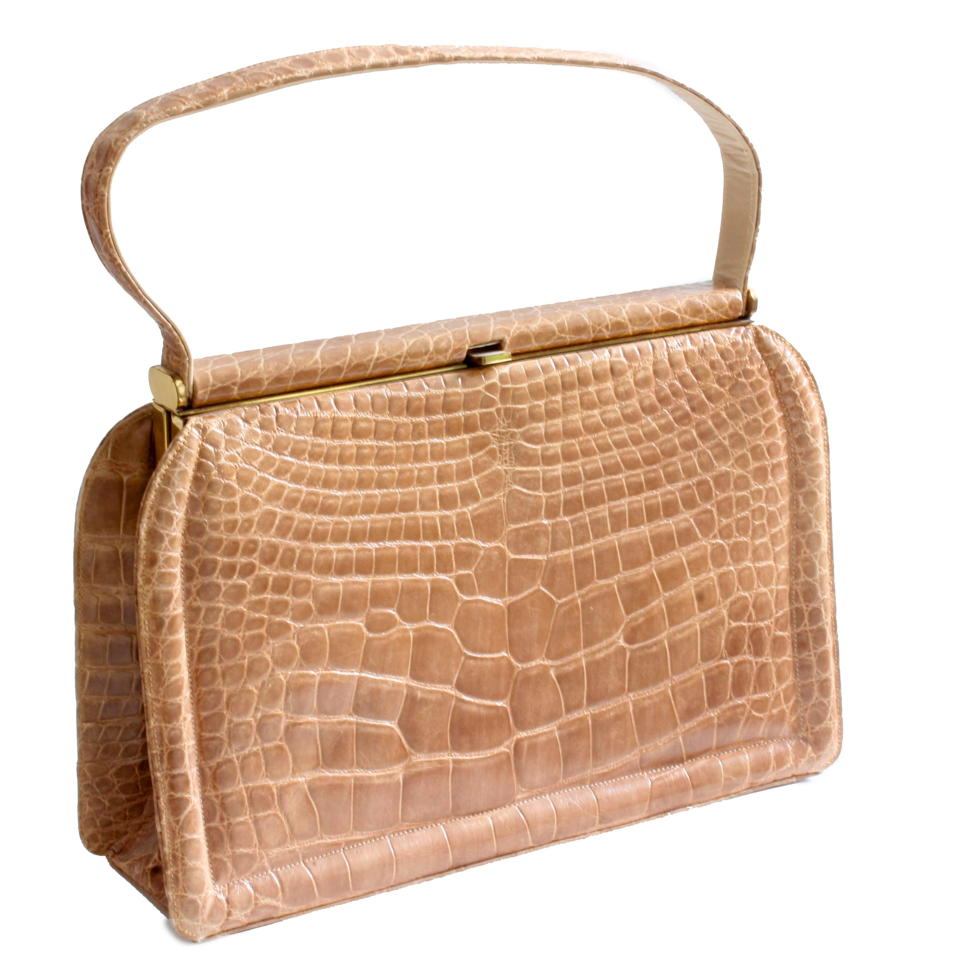 3d6fabe48b Deitsch Alligator Bag New Old Stock + Comb