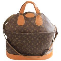 Louis Vuitton by The French Company Große Steamer-Tasche Monogramm Reisentasche 1970er Jahre