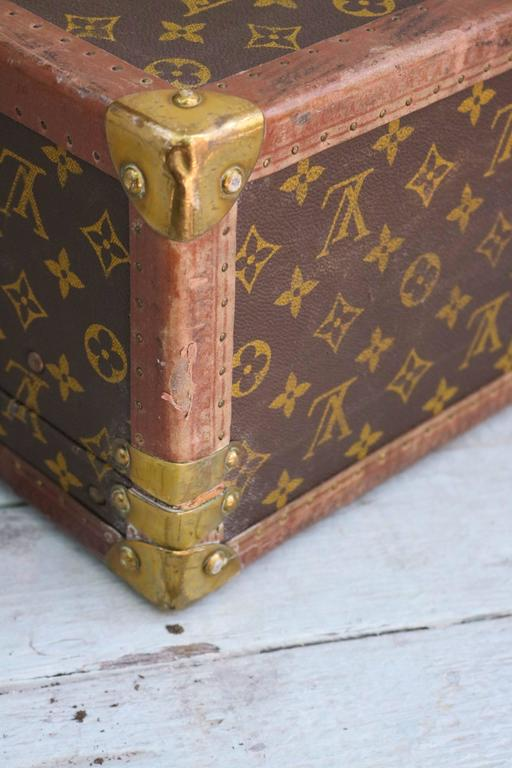 louis vuitton monogram canvas bisten 70 trunk for sale at 1stdibs