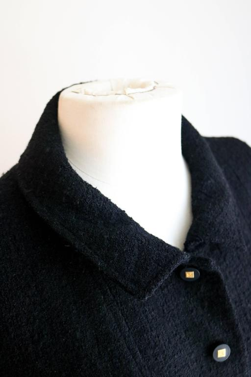CHANEL 1990's Classic Wool Boucle Blazer 38 3