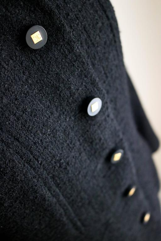 CHANEL 1990's Classic Wool Boucle Blazer 38 8