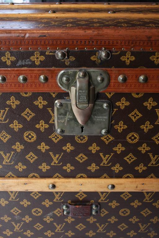 Vintage Louis Vuitton Shoe Trunk 4