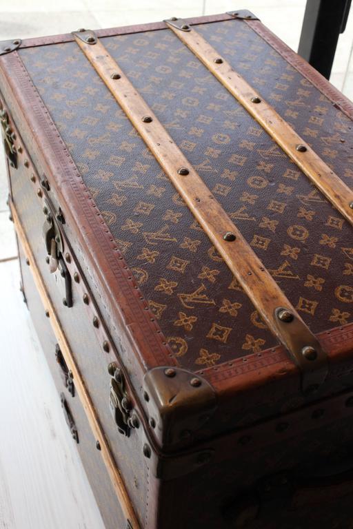 Vintage Louis Vuitton Shoe Trunk 5