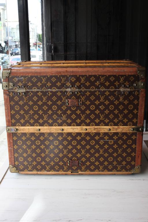 Vintage Louis Vuitton Shoe Trunk 3