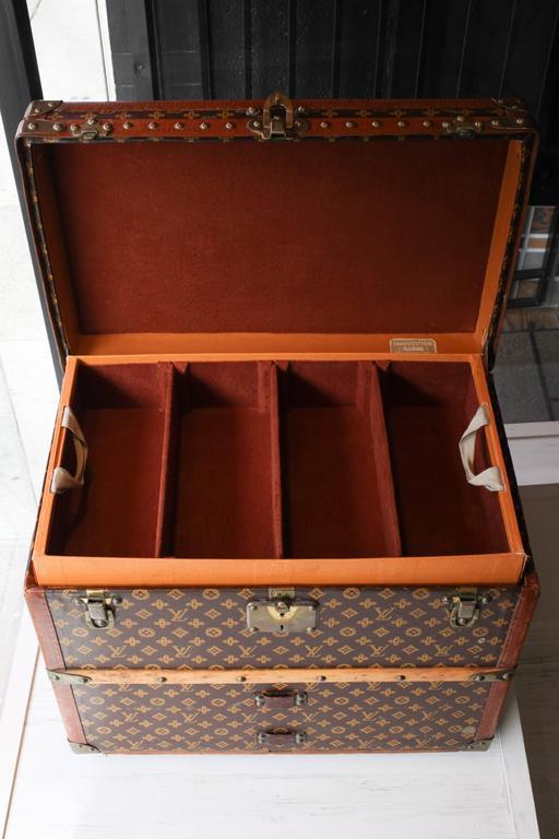 Vintage Louis Vuitton Shoe Trunk 8