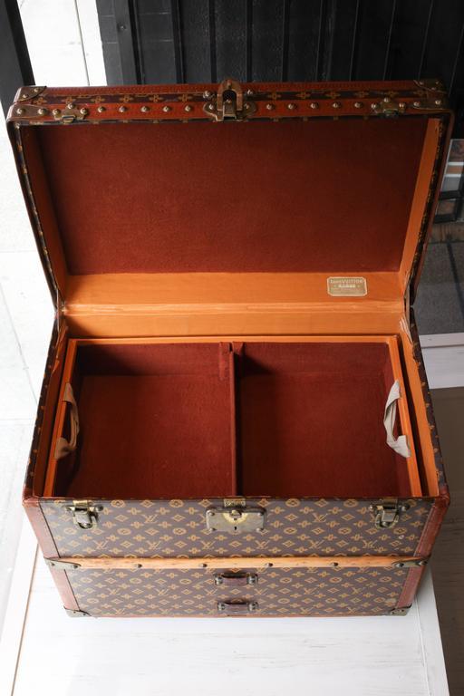 Vintage Louis Vuitton Shoe Trunk 9