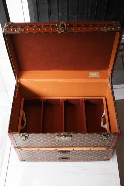 Vintage Louis Vuitton Shoe Trunk 10