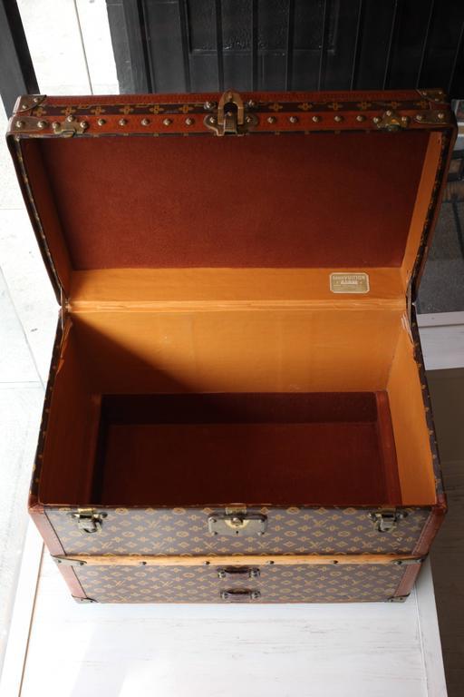 Vintage Louis Vuitton Shoe Trunk 6