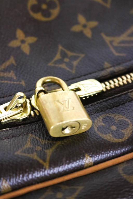 Louis Vuitton Monogram Canvas Sirius 55 Soft Sided Travel Case  2