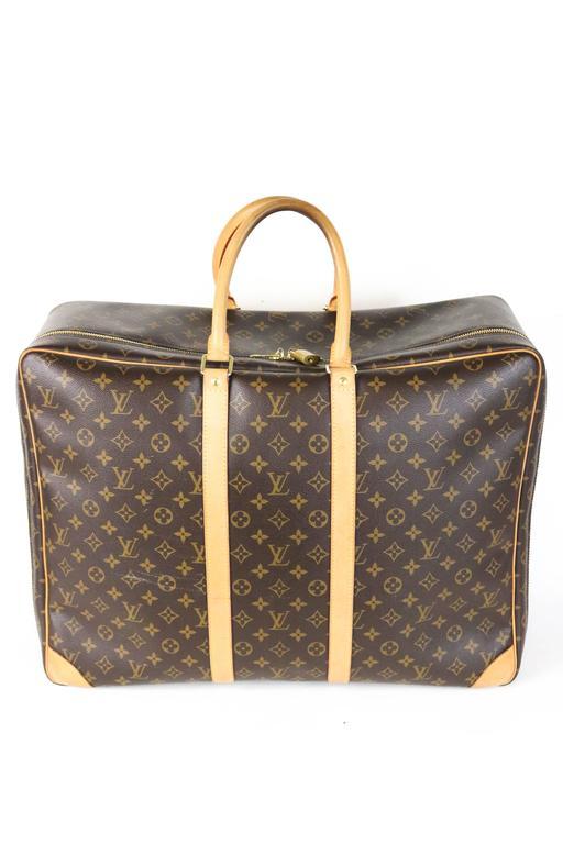 Louis Vuitton Monogram Canvas Sirius 55 Soft Sided Travel Case  4