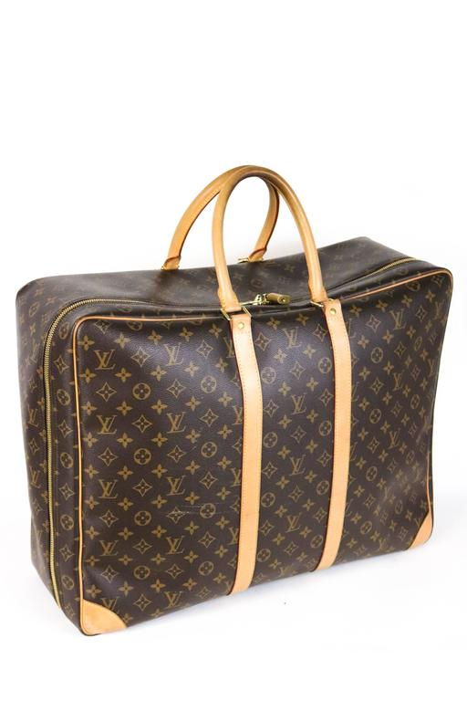 Louis Vuitton Monogram Canvas Sirius 55 Soft Sided Travel Case  5