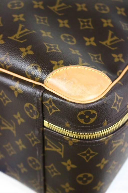 Louis Vuitton Monogram Canvas Sirius 55 Soft Sided Travel Case  9