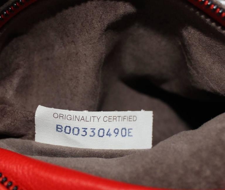 419a526cad4f Bottega Veneta Extra Large Orange Intrecciato Nappa Tote Bag and Mirror For  Sale 4