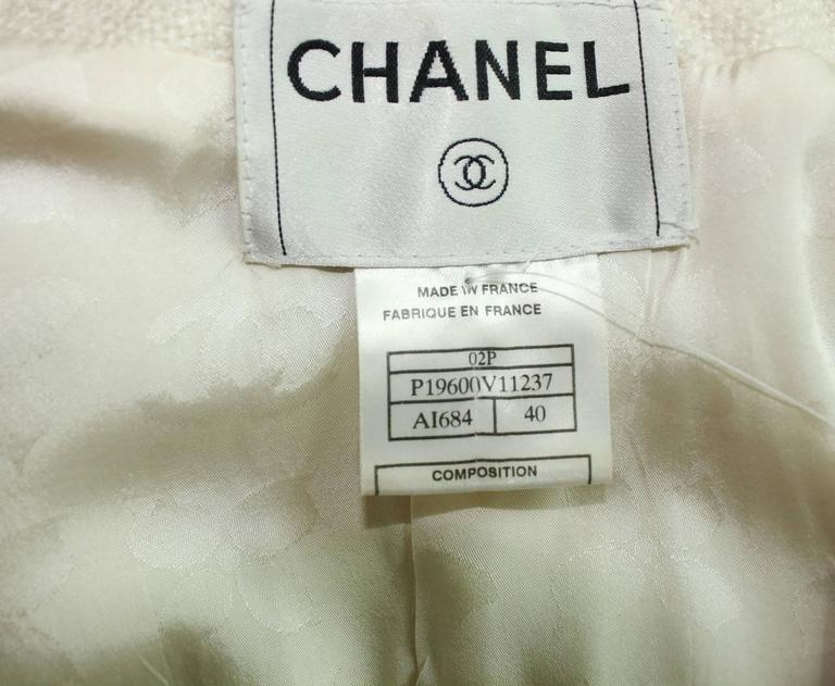 CHANEL Maison Lesage Silk Chain Trouser Pant Suit For Sale 1