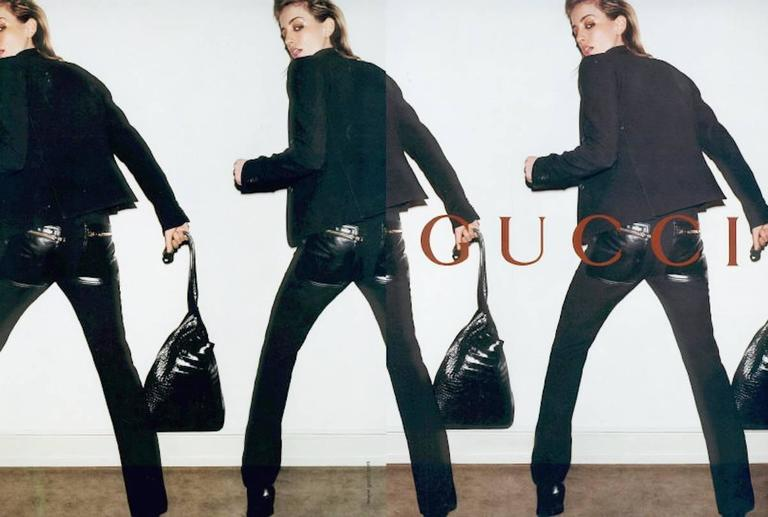 Gucci Tom Ford Fall 2001 Limited Edition Black Softest