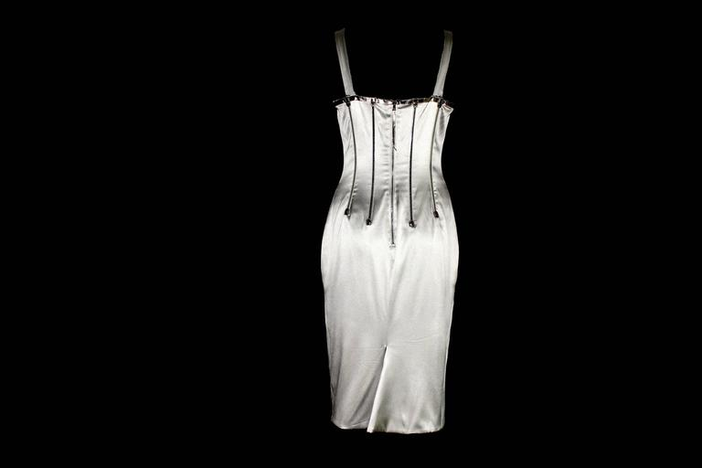 GORGEOUS DOLCE & GABBANA SILK CORSET DRESS  SOLD OUT IMMEDIATELY  This beautiful dress is an absolute IT-PIECE and loved by Gisele, Victoria, Jamelia and many other celebrities and top models as it is so ultra-glamouous  Condition: Brandnew with