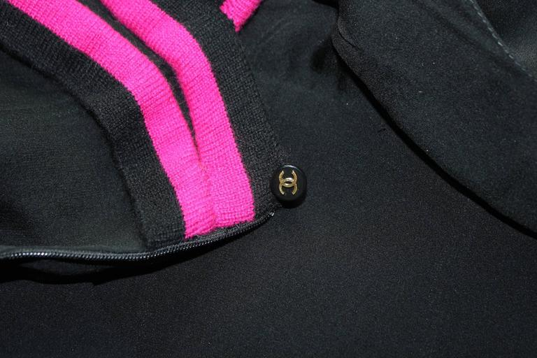 Women's Important Vintage Chanel Silk Cashmere Dress Evening Gown & Scarf