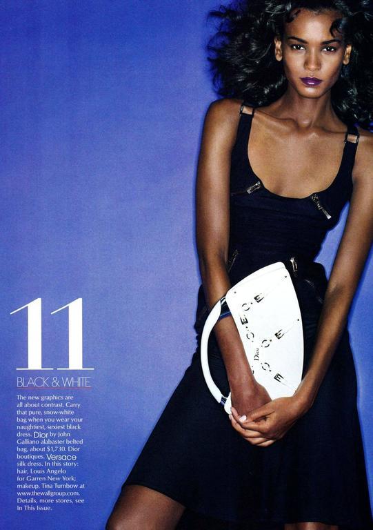 Versace Black Corset Zip Dress For Sale 2