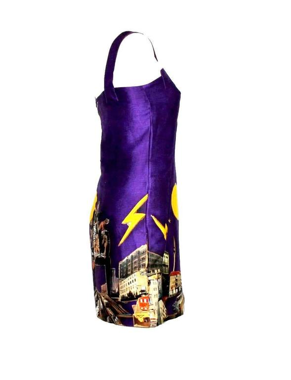 Collectable Versace by Tim Roeloff Art Print Silk Dress 3