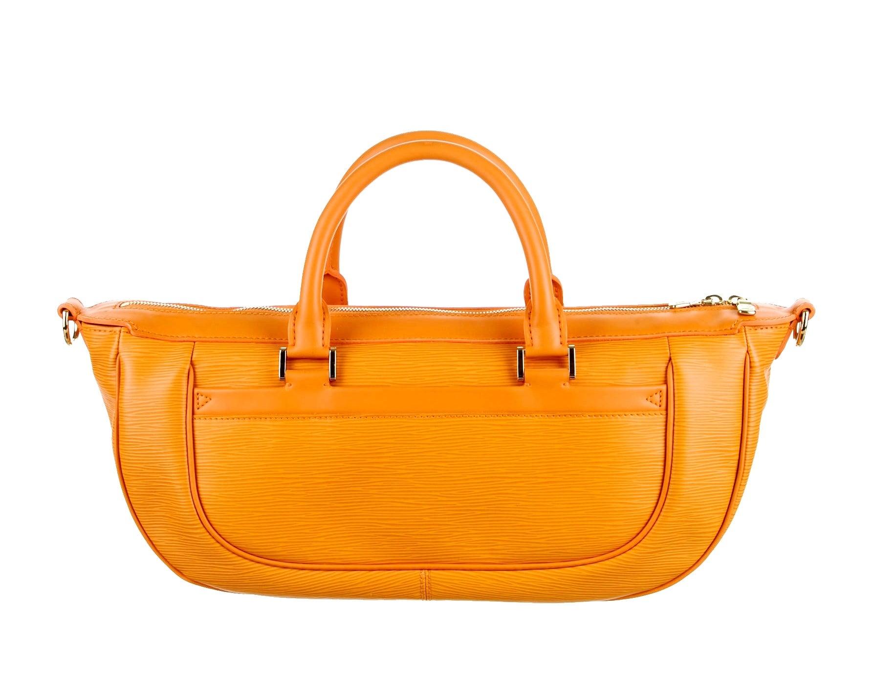 2e2fe266190b5 Louis Vuitton Epi Orange Leather Medium Size Weekender Handbag For Sale at  1stdibs